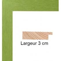 Hauteur en cm: 13 Largeur en cm: 18 Dos du cadre: Isorel Face avant: Plexiglas 1mm Accroche du cadre: Horizontal