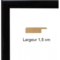 Hauteur en cm: 17.50 Largeur en cm: 12 Dos du cadre: Isorel Face avant: Plexiglas 1mm Accroche du cadre: Vertical