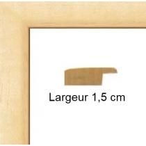 Hauteur en cm: 21 Largeur en cm: 15.20 Dos du cadre: Isorel Face avant: Plexiglas 1mm Accroche du cadre: Vertical