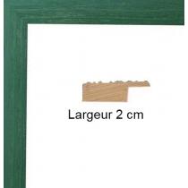 Hauteur en cm: 15 Largeur en cm: 10 Dos du cadre: Isorel Face avant: Plexiglas 1mm Accroche du cadre: Vertical