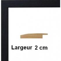 Hauteur en cm: 21 Largeur en cm: 10 Dos du cadre: Isorel Face avant: Plexiglas 1mm Accroche du cadre: Vertical