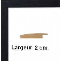 Hauteur en cm: 13 Largeur en cm: 14 Dos du cadre: Isorel Face avant: Plexiglas 1mm Accroche du cadre: Vertical