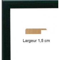 Hauteur en cm: 13 Largeur en cm: 17 Dos du cadre:  Face avant: Plexiglas 1mm Accroche du cadre: Horizontal