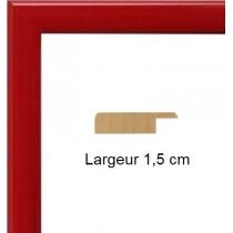 Hauteur en cm: 19 Largeur en cm: 13 Dos du cadre:  Face avant: Plexiglas 1mm Accroche du cadre: Horizontal