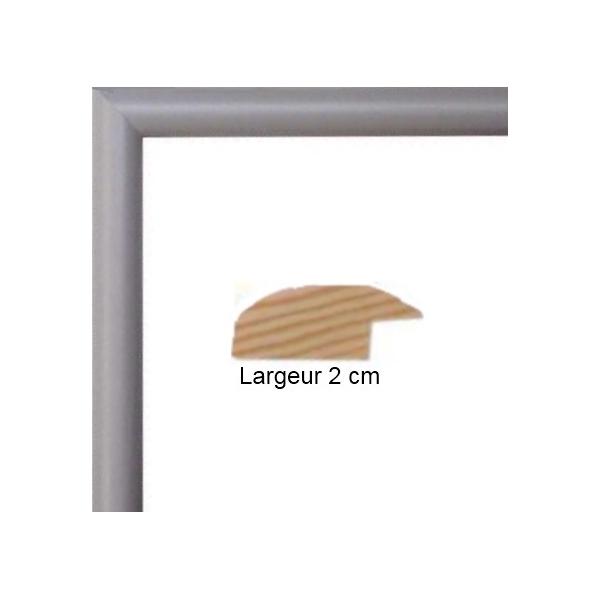 cadre en bois arrondi gris 2 cm multivues 3 photos 10 x 15 ou 15 x 10. Black Bedroom Furniture Sets. Home Design Ideas