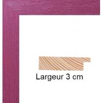 Hauteur en cm: 15 Largeur en cm: 10.5 Dos du cadre: Dos Medium 3 mm Face avant: Plexiglas 1mm Accroche du cadre: Vertical