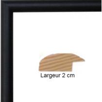 Hauteur en cm: 15 Largeur en cm: 11 Dos du cadre: Dos Medium 3 mm Face avant: Plexiglas 1mm Accroche du cadre: Vertical