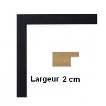 Hauteur en cm: 12 Largeur en cm: 18 Dos du cadre: Dos Medium 3 mm Face avant: Plexiglas 1mm Accroche du cadre: Horizontal
