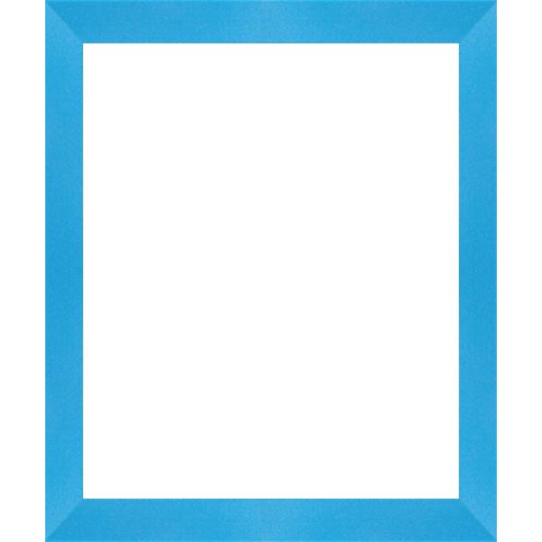 cadre photo cadre plat bleu mat de 1 7 cm cadre tout format encadrement bois cadre plat bleu. Black Bedroom Furniture Sets. Home Design Ideas