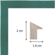 profil cadre photo pente vert