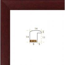 profil cadre photo plat mat bordeaux
