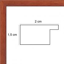 profil cadre photo plat chêne
