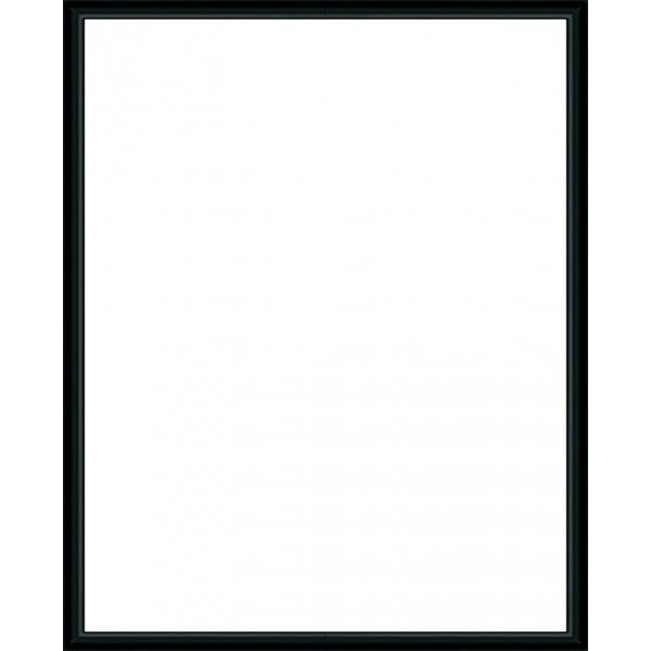 cadre photo sur mesure en aluminium noir avec plexiglas et dos sur cadre. Black Bedroom Furniture Sets. Home Design Ideas