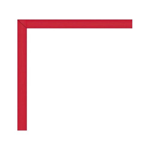 cadre photo sur mesure en aluminium rouge avec plexiglas et dos sur cadre. Black Bedroom Furniture Sets. Home Design Ideas