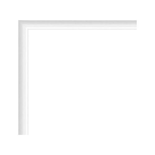 cadre photo sur mesure en aluminium blanc avec plexiglas et dos sur cadre. Black Bedroom Furniture Sets. Home Design Ideas