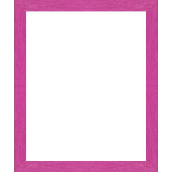 cadre photo plat stri bois rose fushia largeur 3 cm cadre tout format encadrement bois plat. Black Bedroom Furniture Sets. Home Design Ideas