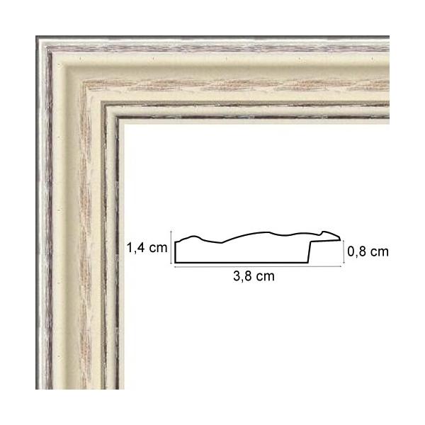 encadrement bois pour photos c rus blanc avec verre et dos votre cadre photo sur mesure. Black Bedroom Furniture Sets. Home Design Ideas