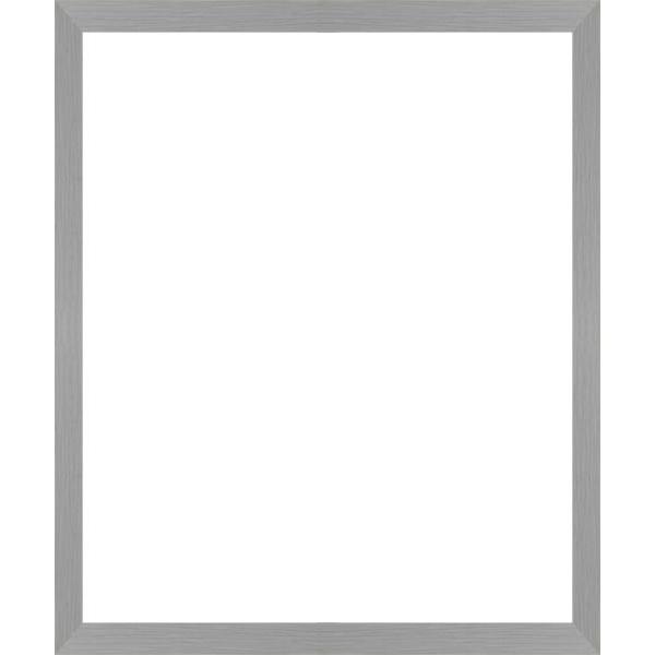 cadre photo plat gris largeur 2 cm cadre tout format encadrement bois plat gris pour photo. Black Bedroom Furniture Sets. Home Design Ideas