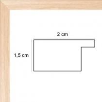 Face avant: Plexiglas 1mm Hauteur en cm: 17 Largeur en cm: 10 Dos du cadre: Dos Medium 3 mm Accroche du cadre: Vertical