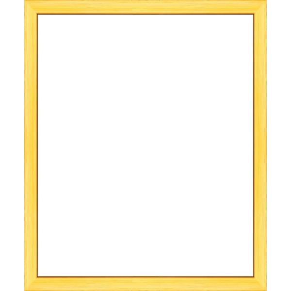 cadre photo plat jaune largeur 2 cm cadre tout format. Black Bedroom Furniture Sets. Home Design Ideas