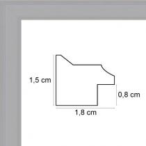 Face avant: Plexiglas 1mm Hauteur en cm: 18 Largeur en cm: 13 Dos du cadre: Dos Medium 3 mm Accroche du cadre: Vertical