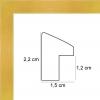 profil cadre photo pente jaune