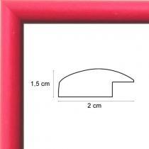Face avant: Plexiglas 1mm Hauteur en cm: 18 Largeur en cm: 12 Dos du cadre: Dos Medium 3 mm Accroche du cadre: Vertical