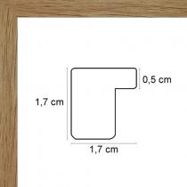 Face avant: Plexiglas 1mm Hauteur en cm: 17.4 Largeur en cm: 17.7 Dos du cadre: Dos Medium 3 mm Accroche du cadre: Horizontal