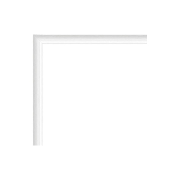 Cadre Photo Sur Mesure En Aluminium Blanc Avec Plexiglas Et