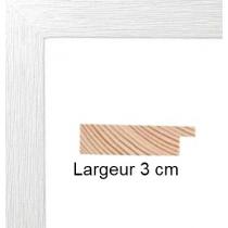 Hauteur en cm: 21 Largeur en cm: 15 Dos du cadre: Isorel Face avant: PlexiGlas 1mm Accroche du cadre: Vertical