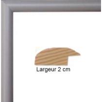 Hauteur en cm: 15 Largeur en cm: 21 Dos du cadre: Isorel Face avant: PlexiGlas 1mm Accroche du cadre: Vertical