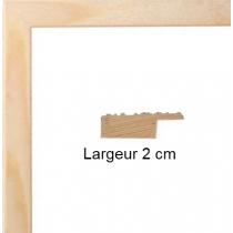 Hauteur en cm: 15 Largeur en cm: 21 Dos du cadre: Isorel Face avant: PlexiGlas 1mm Accroche du cadre: Horizontal