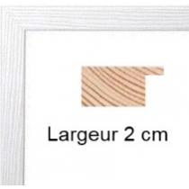 Hauteur en cm: 18 Largeur en cm: 24 Dos du cadre: Isorel Face avant: Plexiglas 1mm Accroche du cadre: Horizontal