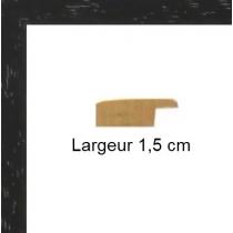 Hauteur en cm: 14.5 Largeur en cm: 15 Dos du cadre: Isorel Face avant: Plexiglas 1mm Accroche du cadre: Horizontal